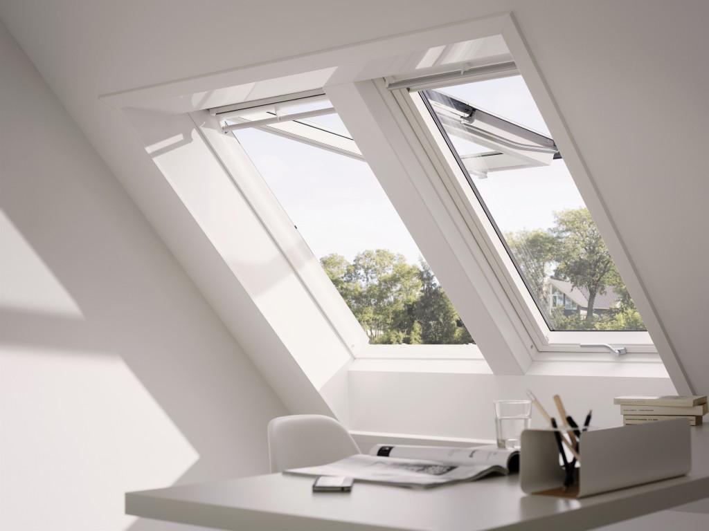 Dachfenster | Dachflächenfenster | Dachfenster mit Balkonaustritt ...