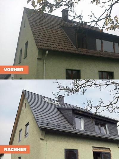 Dach Renovierung Vorher Nachher