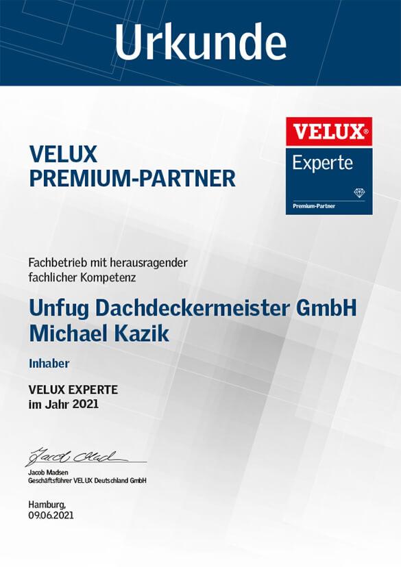 Velux Premium Partner